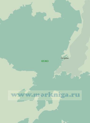 65363 Порт Циндао с подходами (Масштаб 1:30 000)