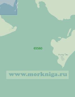 65560 Бухта Ганьрай с подходами (Масштаб 1:25 000)