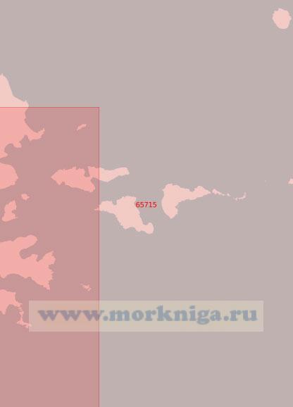 65715 От острова Большой Ситкин до острова Касаточий (Масштаб 1:50 000)