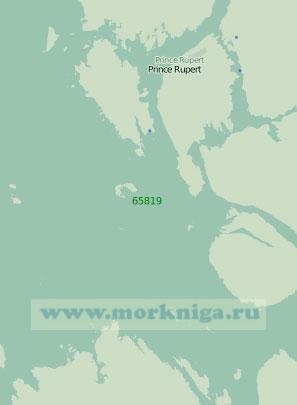 65819 Подходы к порту Принс-Руперт (Масштаб 1:40 000)