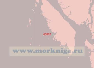 65887 От острова Реннисон до острова Прайс (Масштаб 1:75 000)