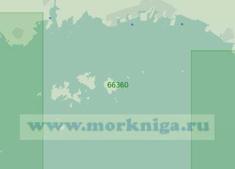 66360 Северо-восточная часть плеса Харима-Нада (Масштаб 1:50 000)
