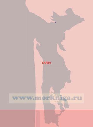 66889 Бухта Уиллапа (Масштаб 1:50 000)
