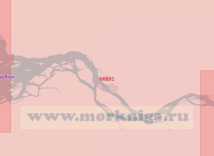 66891 От мыса Харрингтон до острова Кримс (Масштаб 1:50 000)