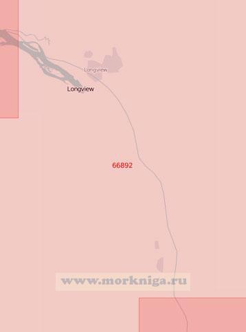 66892 От острова Кримс до острова Бачелор (Масштаб 1:50 000)