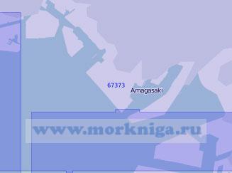 67373 Порт Амагасаки-Нисиномия-Асия (Масштаб 1:11 000)