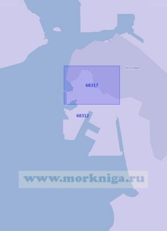 68312 Порт Инчхон (Чемульпо) (Масштаб 1:15 000)