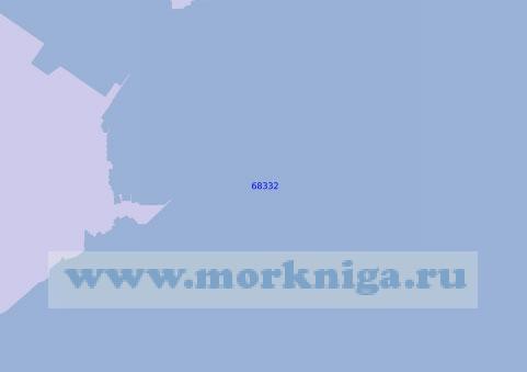 68332 Порт Далянь (Дальний) . Нефтяной терминал Синьган (Масштаб 1: 5 000)