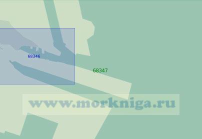 68347 Порт Тяньцзинь. Аванпорт Тяньцзиньсиньган (Масштаб 1: 20 000)