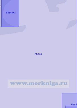 68544 Река Сайгон. От мыса Фами до порта Хошимин (Масштаб 1: 15 000)
