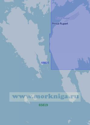 68820 Порт Принс-Руперт (Масштаб 1:20 000)