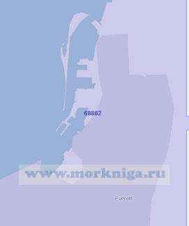 68882 Порт Эверетт (Масштаб 1:10 000)