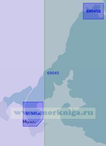 69045 Порт Миядзу с подходами (Масштаб 1:20 000)