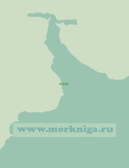 69234 Бухта Лаврова (Масштаб 1:25 000)