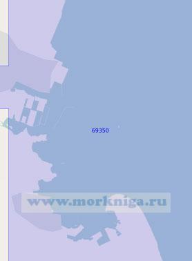 69350 Порт Комацусима (Масштаб 1:13 000)