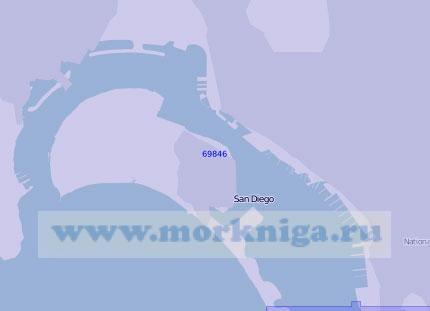 69846 Бухта Сан-Диего (Масштаб 1:15 000)