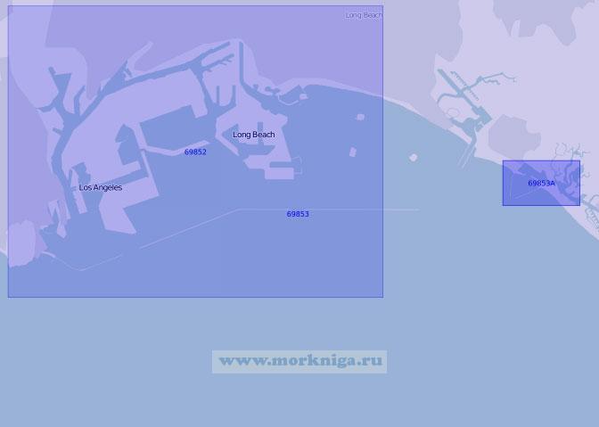 69853 Бухта Сан-Педро (Масштаб 1:25 000)