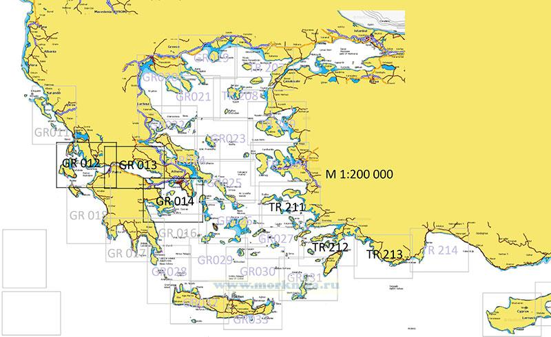 TR 212 Побережье Турции (Эгейское море). От Бодрума до Мармариса. From Bodrum to Marmaris