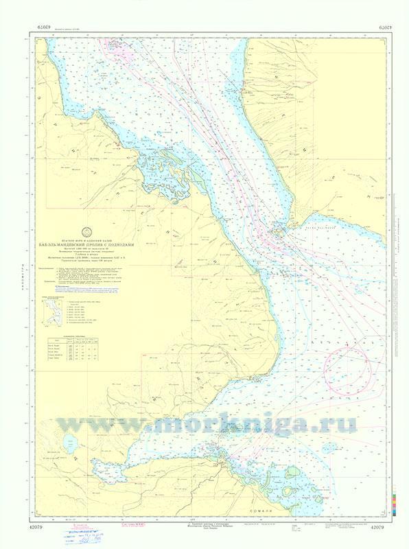 42079 Баб-эль-Мандебский пролив с подходами (Масштаб 1:250 000)