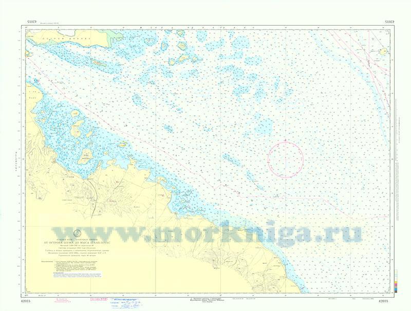 42015 От острова Шума до мыса Шааб-Шахс (Масштаб 1:200 000)