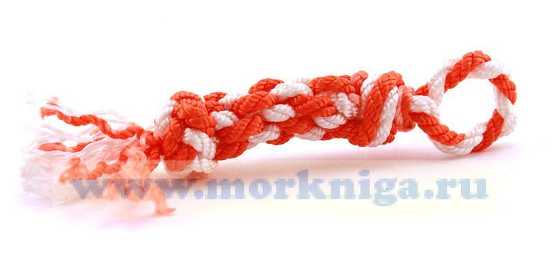 Брелок для ключей плетеный
