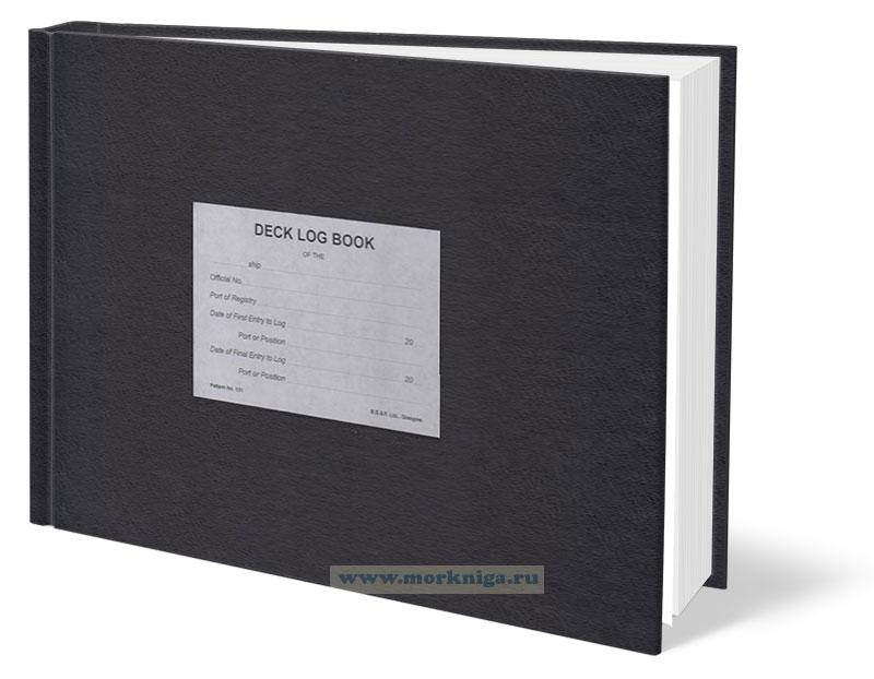 Deck Log Book (3 month edition)