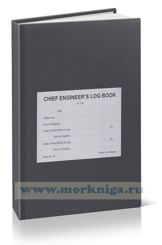 Chief Engineers Log Book (3 month edition)