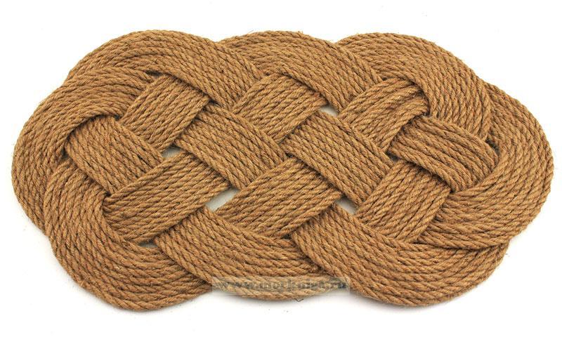 Мат морской классический (коврик ручной работы)