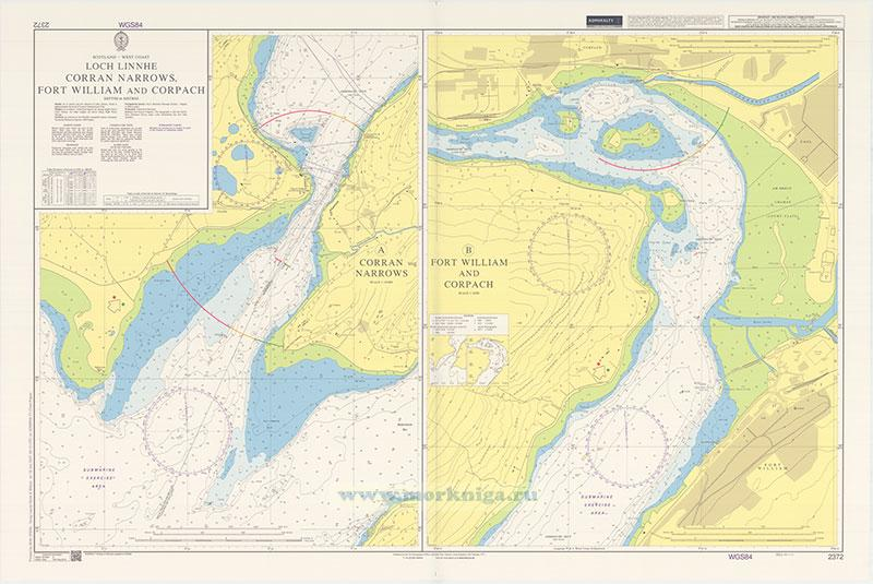 2372 Loch Linnhe Corran Narrows, Fort William and Corpach