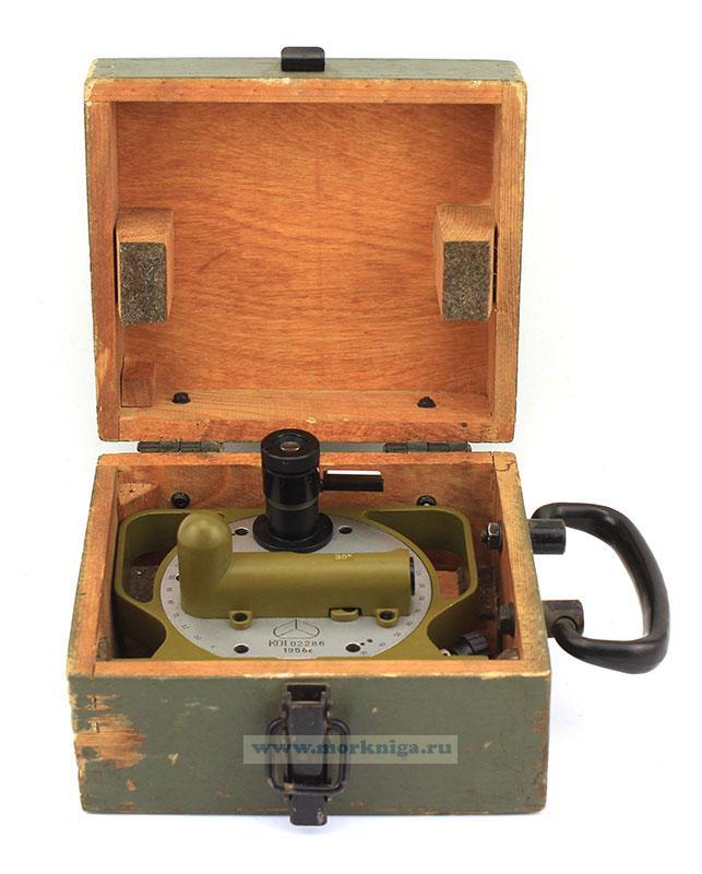 Квадрант оптический (КО-1) в деревянном футляре б/у