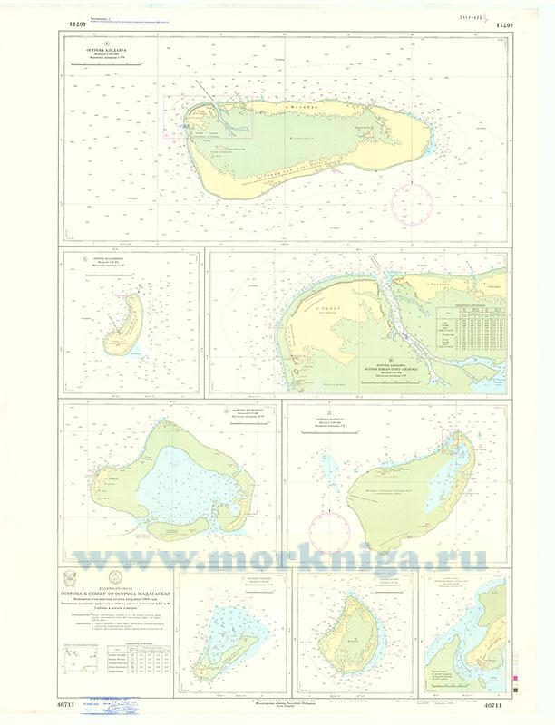 46711 Острова к северу от острова Мадагаскар