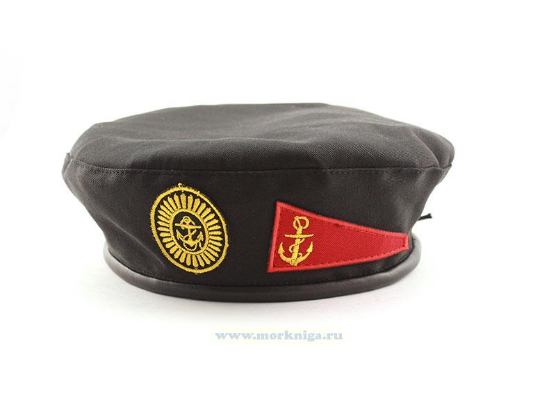 Берет детский морской пехоты (черный)