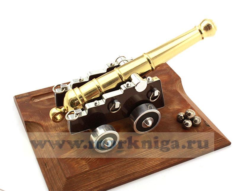 Модель корабельной пушки русского флота ХIX в