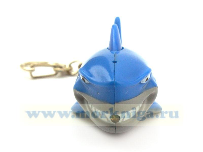 """Брелок """"Акула"""" с подсветкой и голосовым сопровождением"""