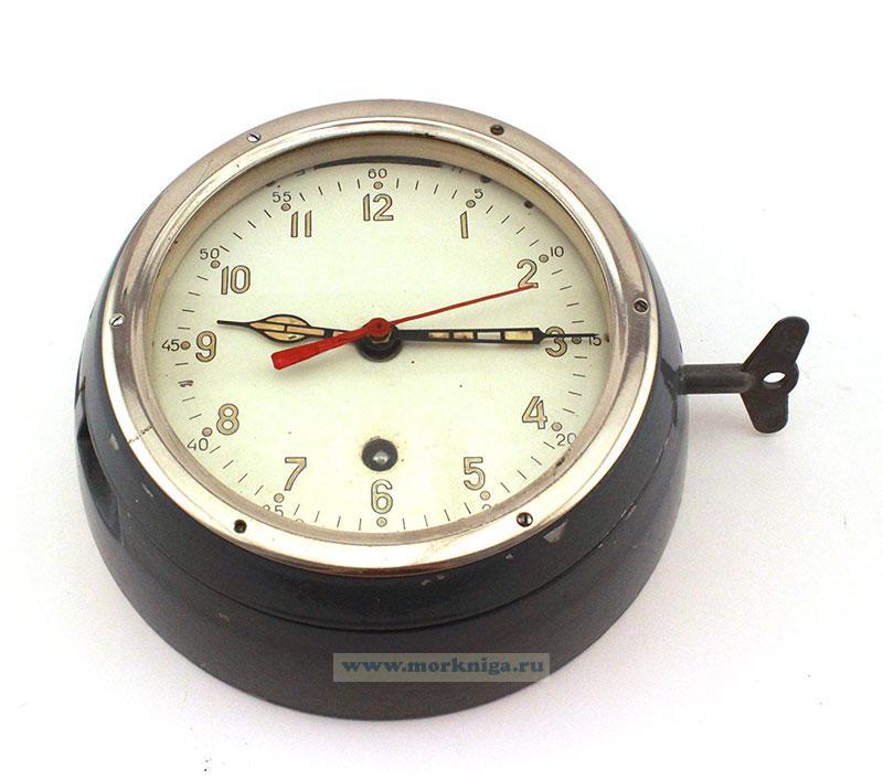 Часы судовые каютные, светонакопительные