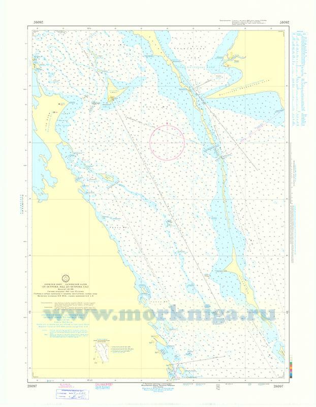 28097 От острова Хед до острова Сал (Масштаб 1:25 000)
