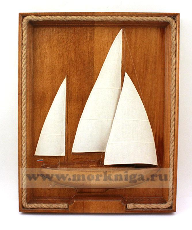 3D картина Крейсерская яхта
