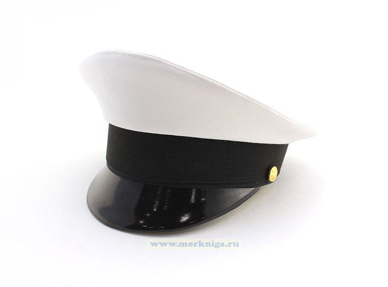 Фуражка ВМФ белая севастопольский пошив (необорудованная)