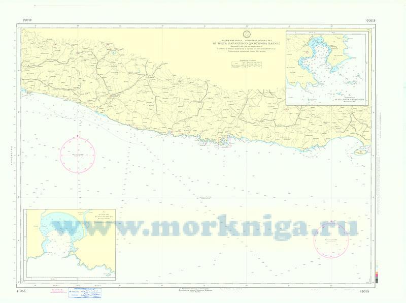41055 От мыса Карангбото до острова Барунг (Масштаб 1:500 000)