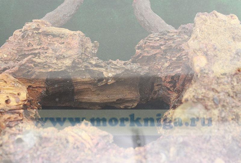Блок с затонувшего парусника