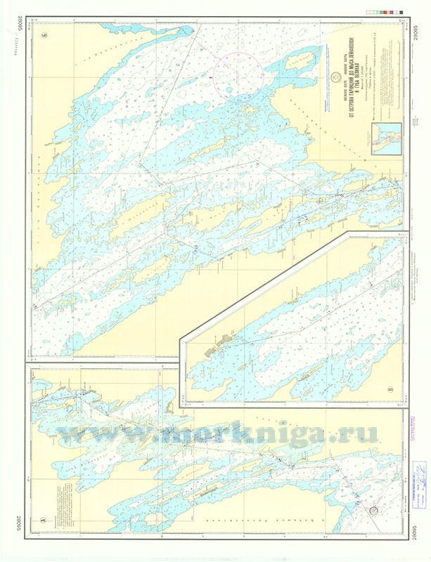 28095 От острова Гарницкий до мыса Лейнаволок и губа Великая (Масштаб 1:25 000)