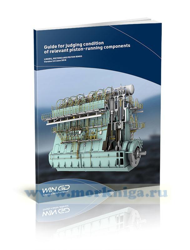 Guide for judging condition of relevant piston-running components/Руководство по оценке состояния поршневой группы