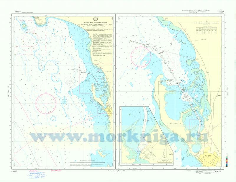 43035 От мыса Иса до острова Джазират-эт-Турфа (Масштаб 1:100 000)