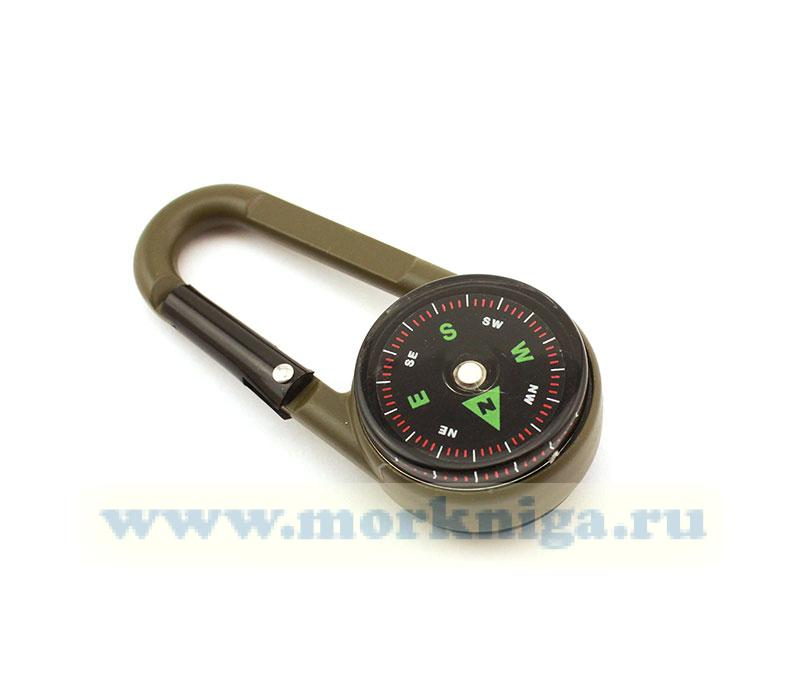 Брелок компас-карабин