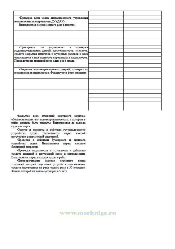 Судовой журнал для судов внутреннего водного транспорта