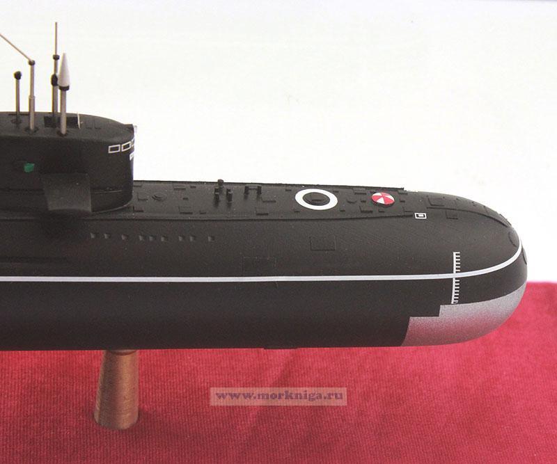 """Модель атомной подводной лодки проекта 667 БДРМ """"Дельфин"""". Класс НАТО - ДЕЛЬТА-4"""