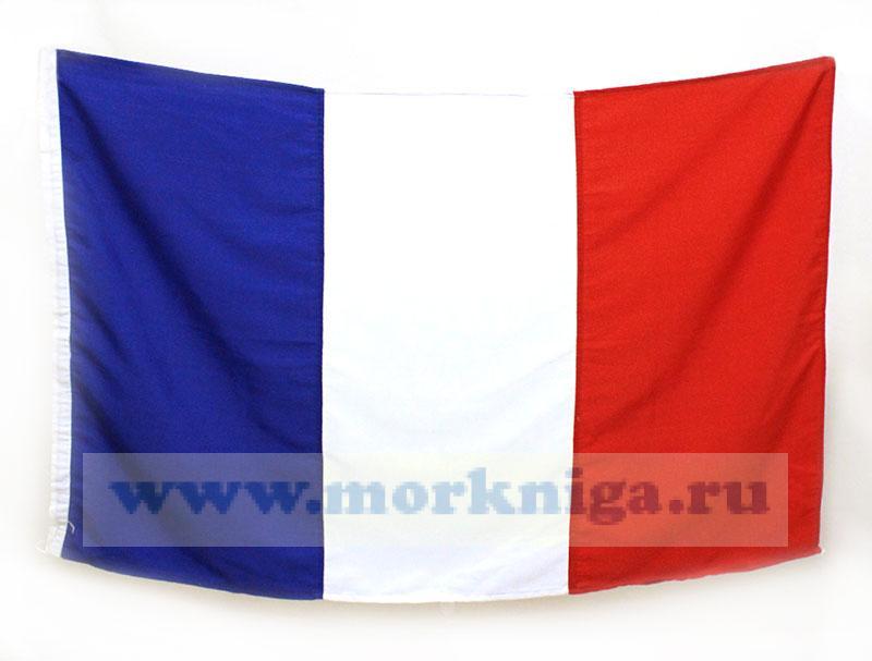 Флаг Франции судовой (67х106)
