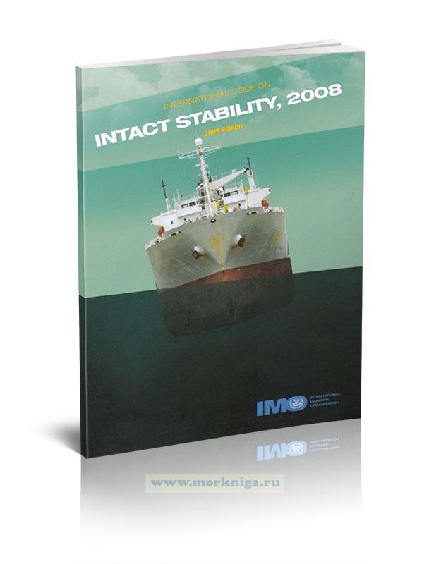 The International Code On Intact Stability, 2008/Международный кодекс остойчивости судов в неповрежденном состоянии, 2008