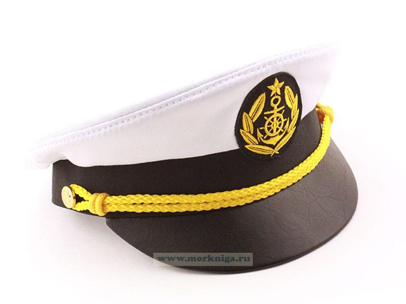 Фуражка плавсостава речного флота (белая)