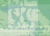 10109 Южная часть Канадских Арктических островов (Масштаб 1:2 000 000)